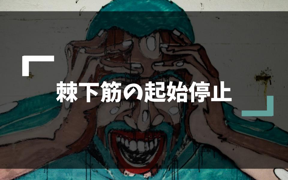 棘下筋(7438文字・画像17枚・動画2本)
